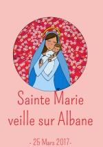 bapteme albane