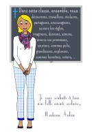 Madame Aubin - Institutrice