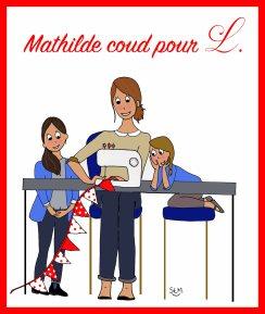 Mathilde coud pour L