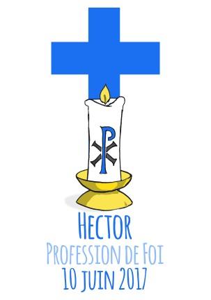 Profession de foi hector